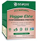 MRM Veggie Elite Metabolic Response Modifiers Powder, Cinnamon Bun, 10 Count