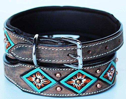 Rhinestone Collar Crystal Western Leather product image
