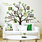 Timber Artbox Large Family Tree Photo Frames Wall Decal - The Sweetest Highlight of Your Home and Family
