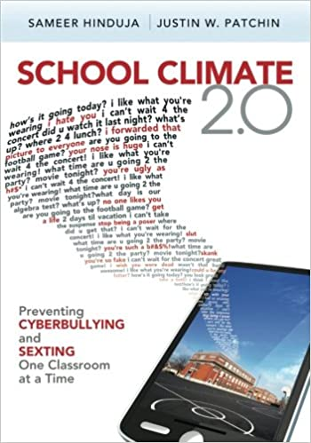 Amazon school climate 20 preventing cyberbullying and sexting amazon school climate 20 preventing cyberbullying and sexting one classroom at a time 9781412997836 sameer hinduja justin w patchin books fandeluxe Choice Image
