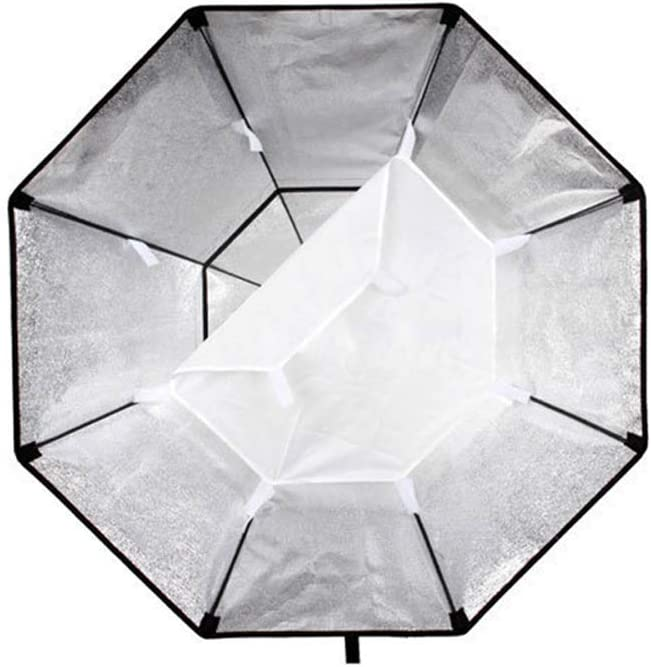 QWERTOUY Professional Octagon Softbox 95cm 37 with Bowens Mount for Photography Studio Strobe Flash Light