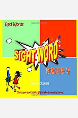 Sight Word Mania 7: Red Words Paperback