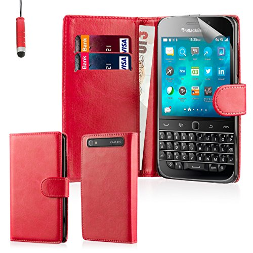 blackberry classic case red - 1