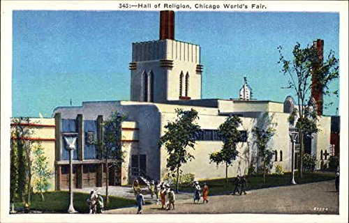Hall of Religion Chicago, Illinois Original Vintage Postcard from CardCow Vintage Postcards