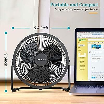 Mini Fan USB Fan Adjustable Clip Desk 3 Wing WY