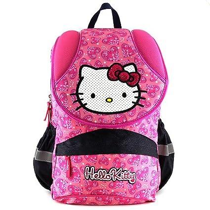 Target Hello Kitty Pink Heart Backpack Mochila Escolar, 42 cm, Rosa (Pink)