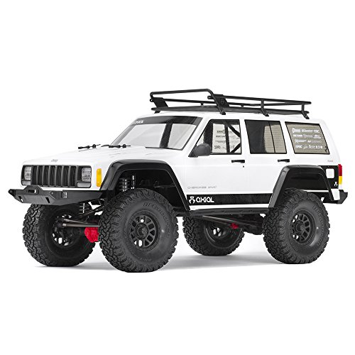 Axial SCX10 II Jeep Cherokee 4WD RC Rock Crawler Unassembled Off-Road 4x4 Electric Crawler, 1/10 Scale Kit (Axial Scx10 Deadbolt Rtr 4wd Electric Rock Crawler)