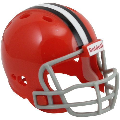 Nfl Pocket Helmet Revolution Pro (Riddell Cleveland Browns Revolution Pocket Pro Collectible Helmet)