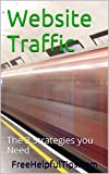 Website Traffic: The 2 Strategies you Need (Web Traffic Book 1)