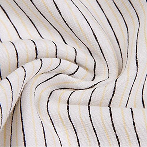 Ropa interior femenina atractiva del triángulo del algodón de la alta cintura de la hembra ( Color : 3 , Tamaño : L ) 7