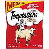 Cheap Temptations Whiskas Cat Treats, Hearty Beef Flavor 6.3 oz.