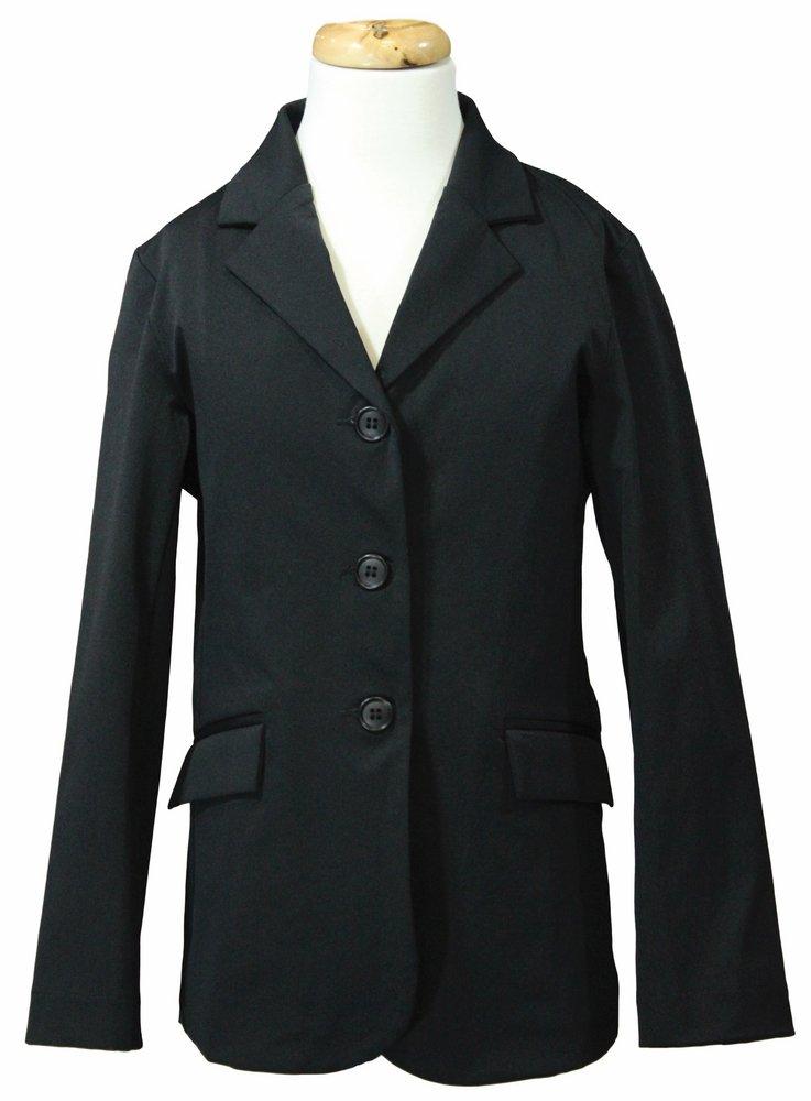 最初の  Equine Couture Equine Girl 's ブラック Raleigh Couture Showコート B00C0ZM9OS 6 ブラック ブラック 6, KupuKupu:740ea811 --- svecha37.ru