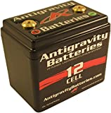 Antigravity Batteries - Lightweight Motorcycle Lithium Ion Battery - Small Case 12 Cell AG1201 - MADE IN THE USA - 2 Pounds 4 Ounces - 360 CCA - Chopper Bobber Cafe Racer Harley