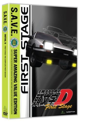 Initial D: First Stage S.A.V.E. by Funimation Prod