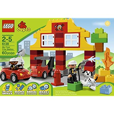 LEGO DUPLO My First Fire Station 6138: Toys & Games