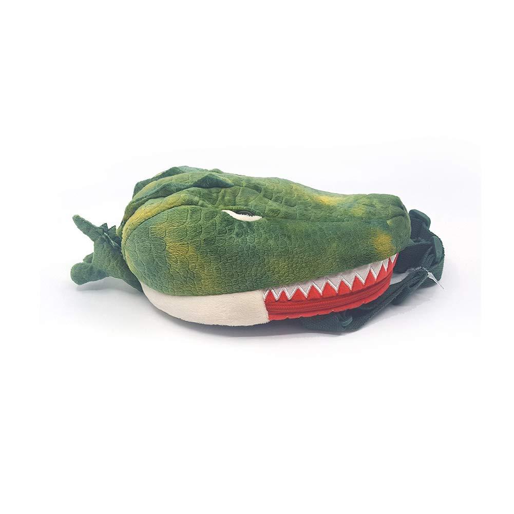 Animal Plush Fashion Waist Fanny Pack Bag Purse with Adjustable Strap Gray, Shark