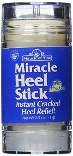 Milagro de Aloe milagro del talón del palillo 2.5 . Calmar agrietado , seco , áspero