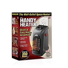 Heater 350 Watt Wall Mounted Electric Fan Compact 250 sq. m. (2 pcs)