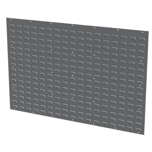 Akro-Mils 30655GY 54-Inch by 34-Inch Louvered Panel for Mounting Plastic Hanging Bins, Grey