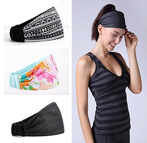 Headband for Workout Yoga and Health, Non Slip and Multi Style Design, Sweat Wicking, Stretchy and Safe, Happy Head Assure. – DiZiSports Store