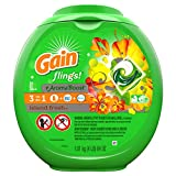 Gain flings! + AromaBoost, Laundry Detergent Pacs, Island Fresh, 81 count