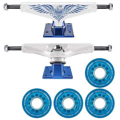 Venture Skateboard Trucks V-Hollow P-Rod 5.2 Ricta Cloud Crystal Blu 52mm Wheel (Prod Skateboard Trucks)