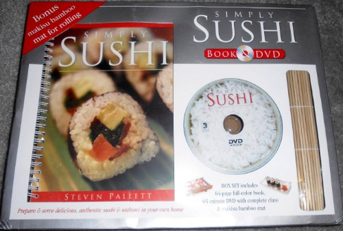 Simply Sushi - Simply Sushi Book & DVD Boxed Set with Makisu Mat
