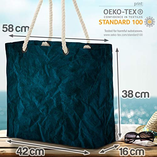 VOID Dark Color strandväska Shopper 58 x 38 x 16 cm 23 L XXL shoppingväska väska resväska Beach Bag