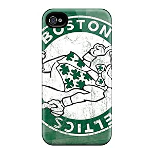 Hot Tpu Cover Case For Iphone/ 4/4s Case Cover Skin - Boston Celtics