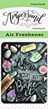 life bake - Enjoy It Ampersand by Lily & Val Bake It Air Freshener (French Vanilla scented)