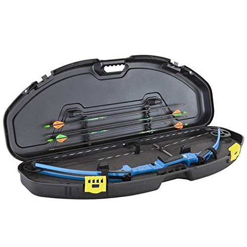 Plano Molding Ultra Compact Bow Case - 41in x 15in x 4.75in,Black,3pk Display Carton