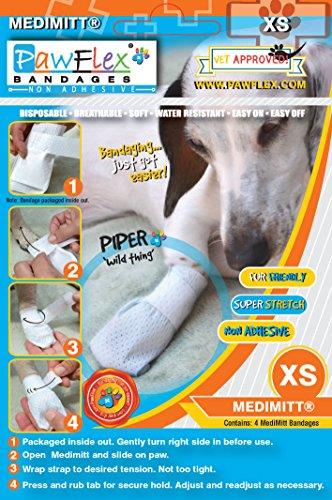 Pictures of Pawflex Bandages Medimitt BandagesPets (Pack of 4) ROM002 4