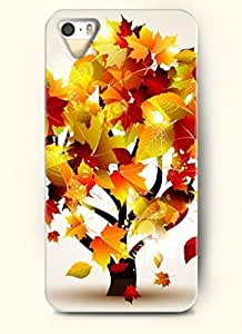 SevenArc Phone Case Design with Yellow Leaves and Tree for Apple iPhone 5 5s 5g