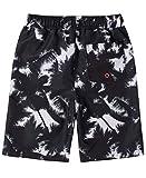 Calvin Klein Boys' Swim Trunk with UPF 50+ Sun