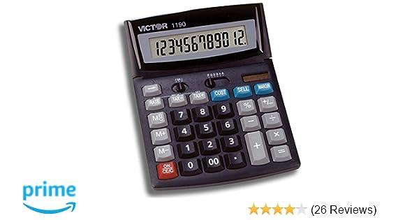Amazon Victor 1190 Standard Function Calculator Electronics