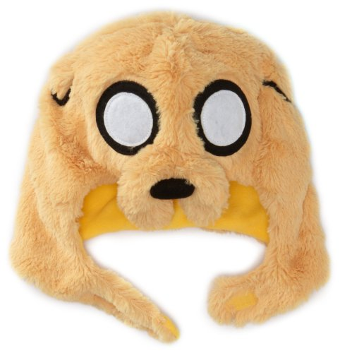 Jake Dog The Costume (Adventure Time Men's Jake Mascot Knit, Gold, One)