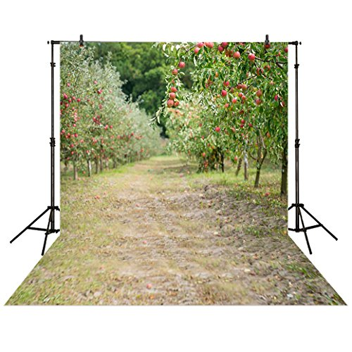 allenjoy-5x7ft-photography-backdrop-harvest-rural-orchard-tree-green-path-fruit-baby-shower-children