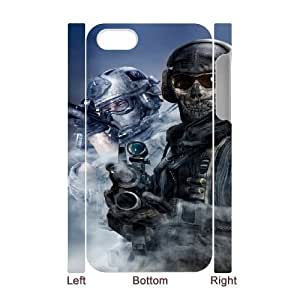 call of duty modern warfare iPhone 4 4s Cell Phone Case 3D White yyfD-052024