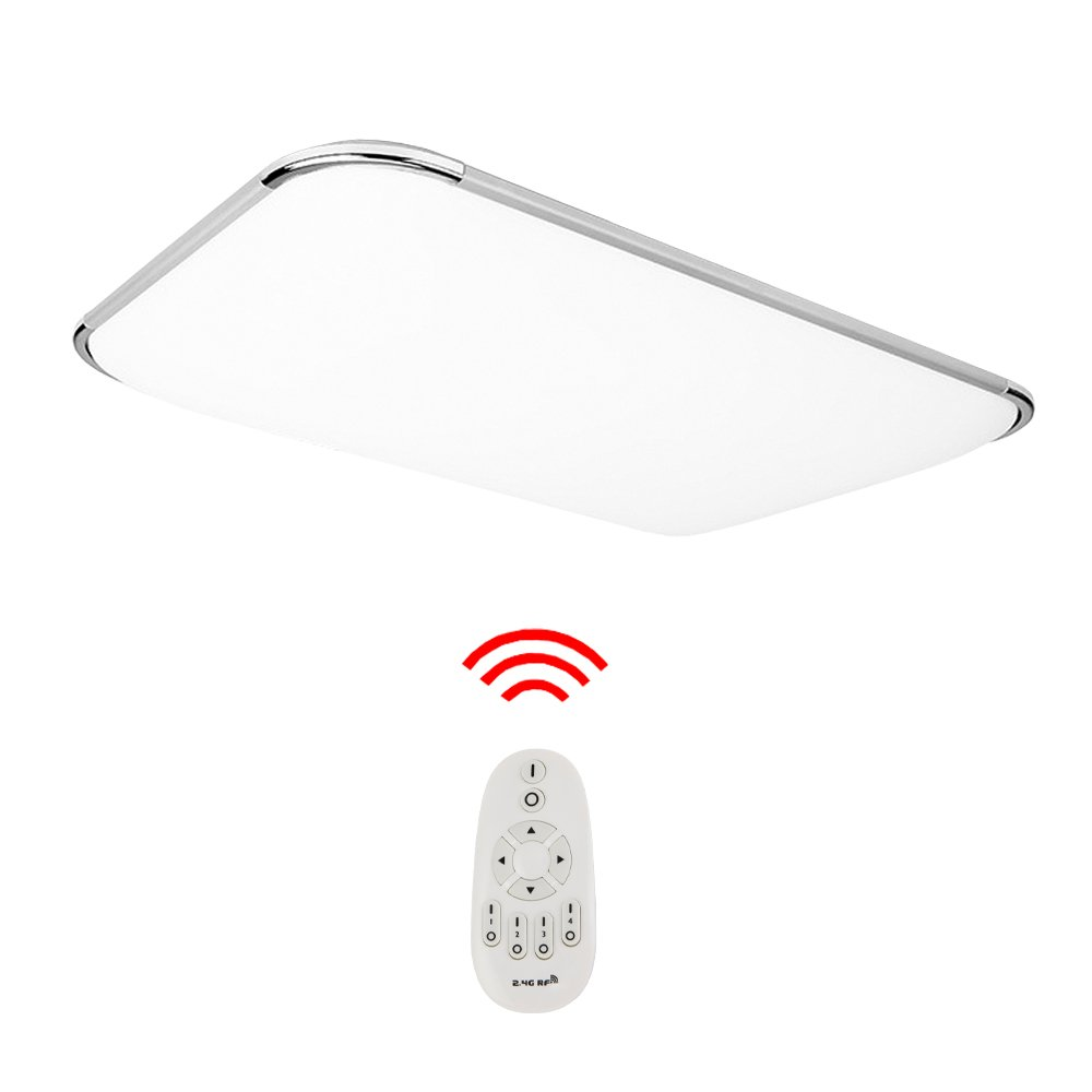 Hengda® LED Deckenleuchte Moderne Esszimmer Deckenbeleuchtung Badezimmer geeignet (48W Dimmbar)