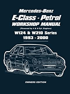 mercedes benz 124 series haynes publishing 9780857339485 amazon rh amazon com mercedes s320 service manual mercedes s320 owners manual pdf