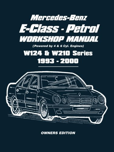 Mercedes-Benz E-Class - Petrol W124 & W210 Series Workshop for sale  Delivered anywhere in USA