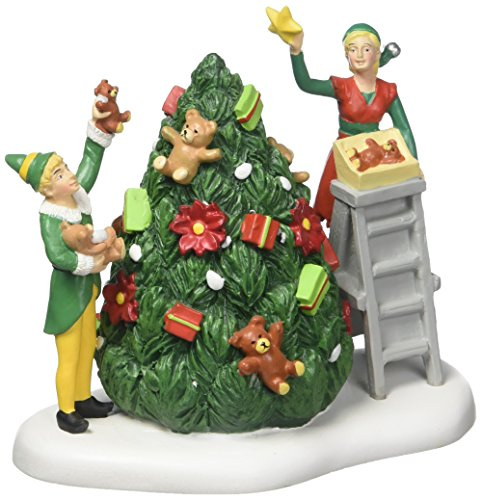 Department 56 Elf the Movie Village Buddy Decorating Tree Accessory Figurine by Department 56