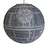 Groovy Star Wars Death Star Paper Light Shade Lamp Shade Official Star Wars Merchandise
