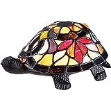 Quoizel TFX1519T Vintage Tiffany 1-Light Turtle Table Lamp