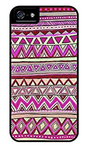 iPhone 4/4s Case Aztec Pattern 0015 (Dual Layer - Black)