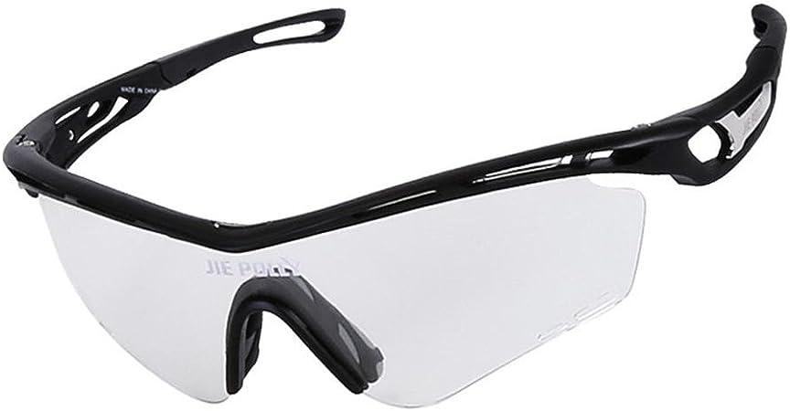JIAAE Deportes al Aire Libre Gafas de Sol polarizadas rápido Transformar Color Gafas Transparentes Anti-UV Gafas para Golf Correr esquí Escalada Pesca ...