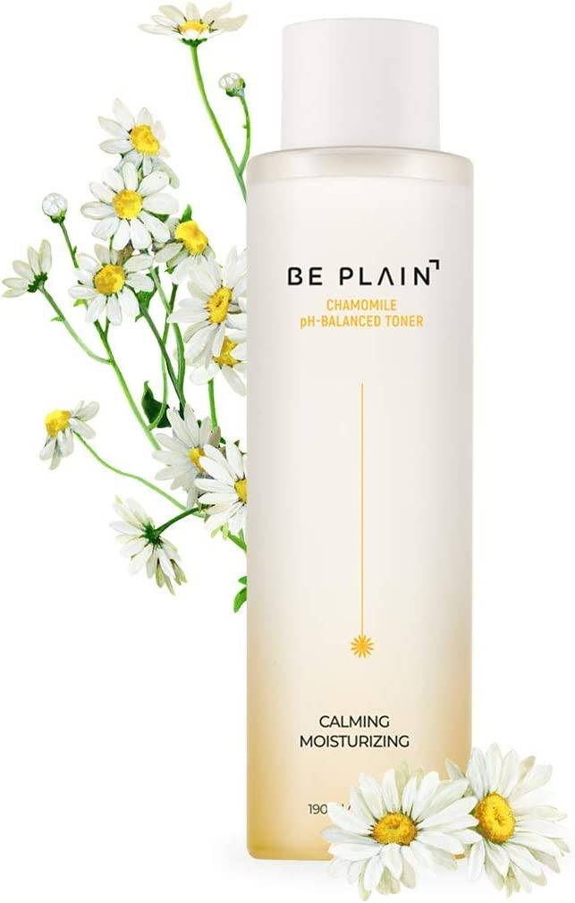 BE PLAIN Chamomile pH-Balanced Toner