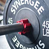Synergee Rogue Red Aluminium Barbell Collars