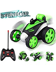 Epoch Air Remote Control Car, Kids Toys RC Car with 360° Rotation Mini Stunt Car Racing Motorcycle Vehicle Gifts for Boys Girls Toddlers Indoor Outdoor Garden Games