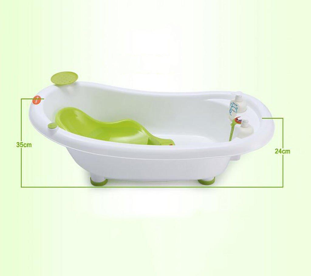 YUGAMG Bathtub Luxury Sensation Warm Baby Bath Large Baby Bath Tub ...